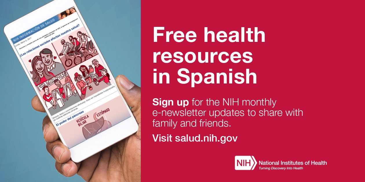 Free health resources in Spanish